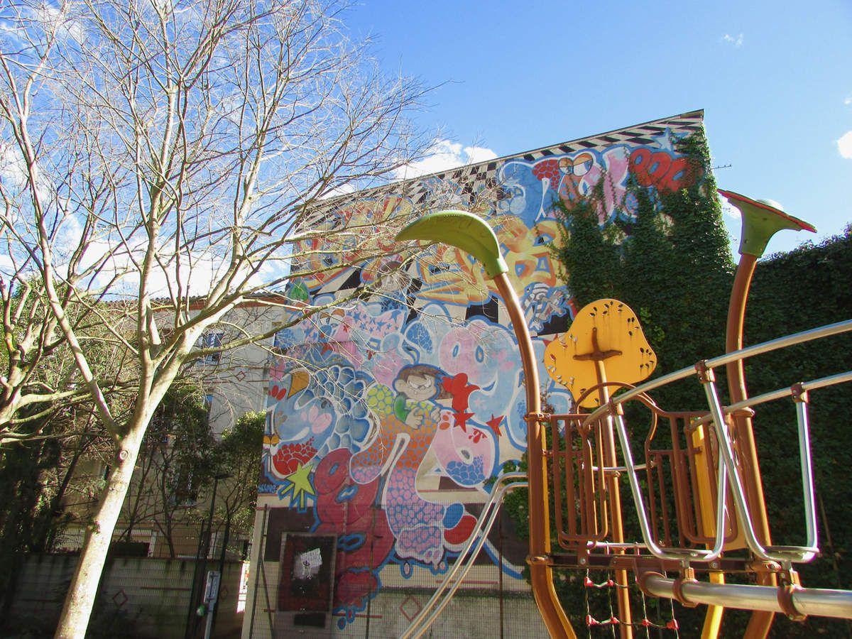 Le Graff Tour de Toulouse