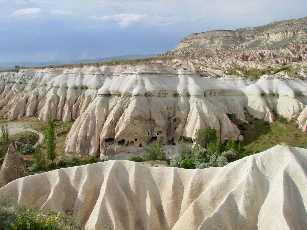 Les paysages de la Cappadoce