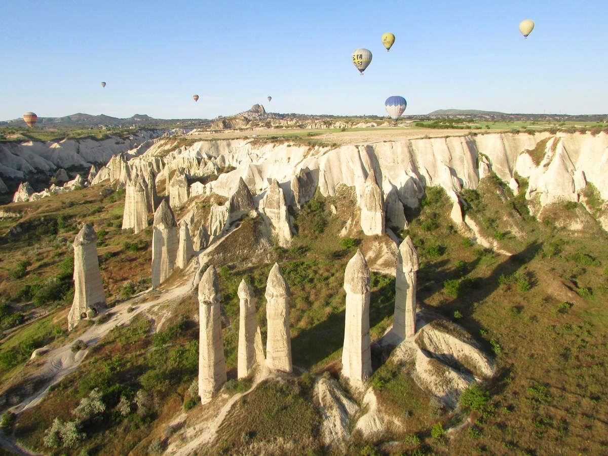 Survoler la Cappadoce en montgolfière
