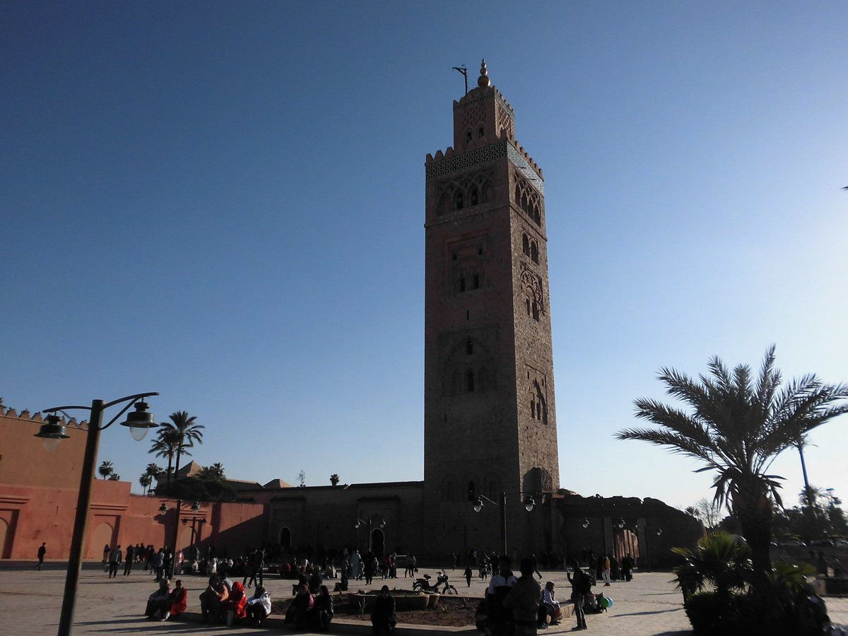 Le temps d'une escale à Marrakech