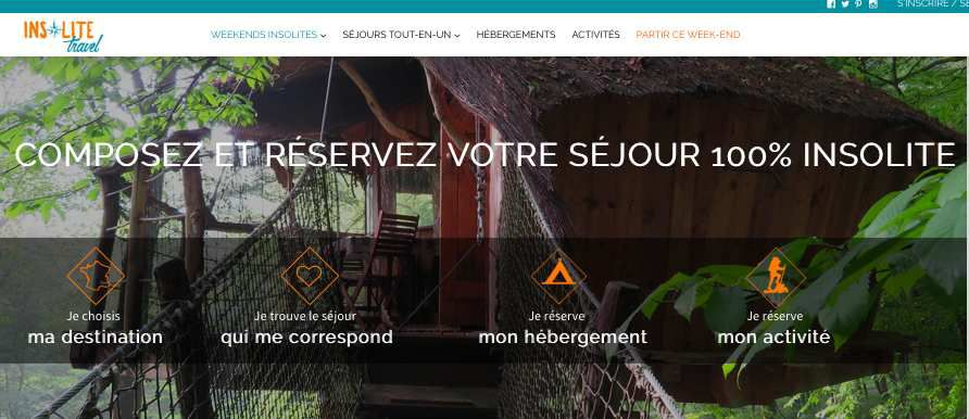 Start-up Voyage : Insolite Travel