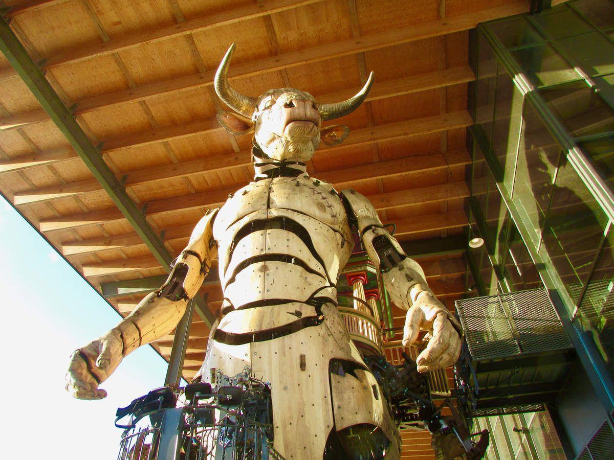 Les drôles de créatures de la Halle de la Machine de Toulouse