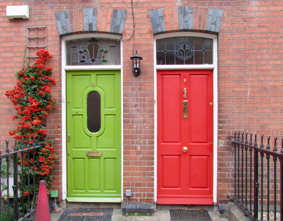 Hommage aux portes de Dublin