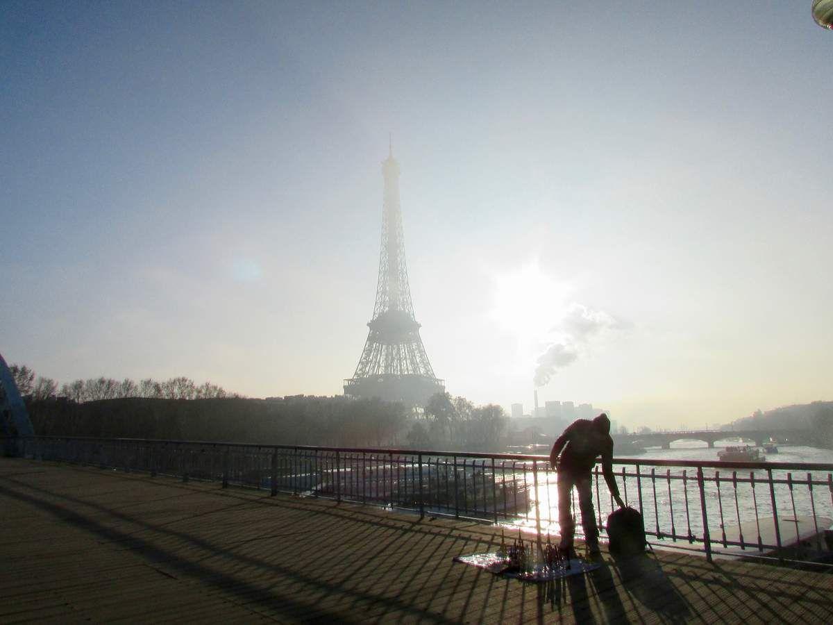 En bateau.... mouche  à Paris !