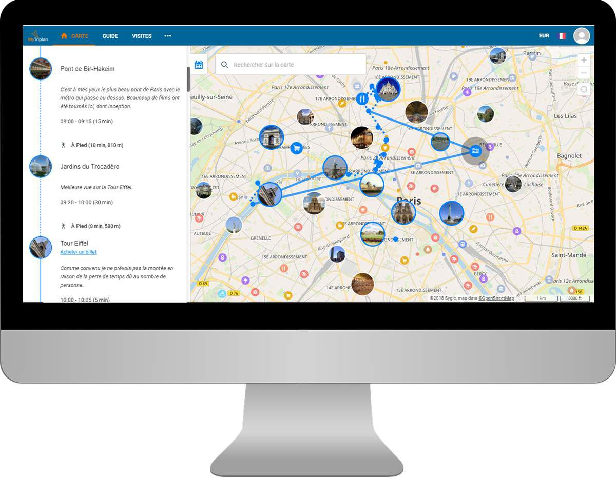 Start-up Voyage : Mytriplan pour organiser son voyage idéal