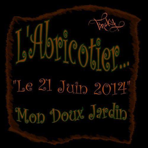 ***C'était le 21 Juin 2014... Les Abricots !!! Sourire***