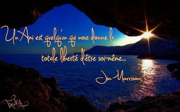 ***Création/Citation de Jim Morrison... Sourire***