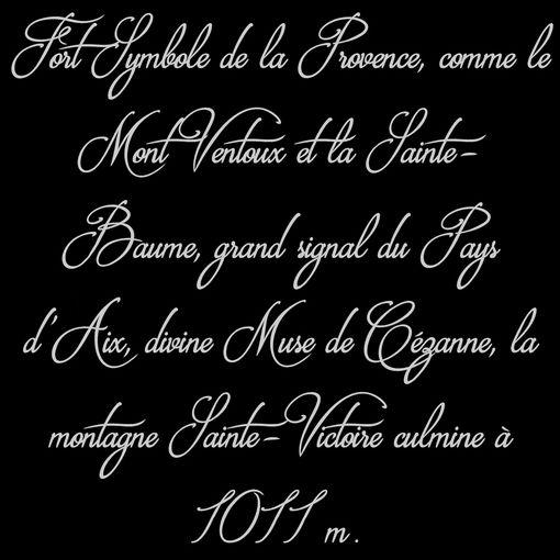 ***La Sainte Victoire !!! Sourire***