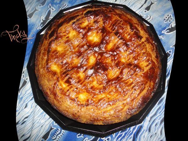 """***Recette du Gâteau Basque aux Abricots """"du jardin""""!!! Sourire***"""