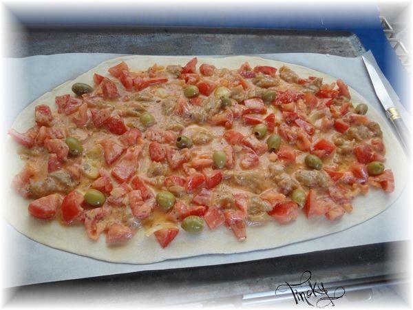 """***Soirée Pizza et """"Ma Recette en prime"""" !!! Clin d'oeil/Sourire***"""