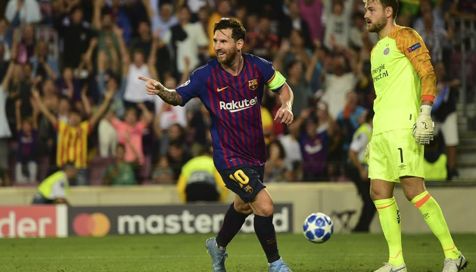 Messi quere a Champions