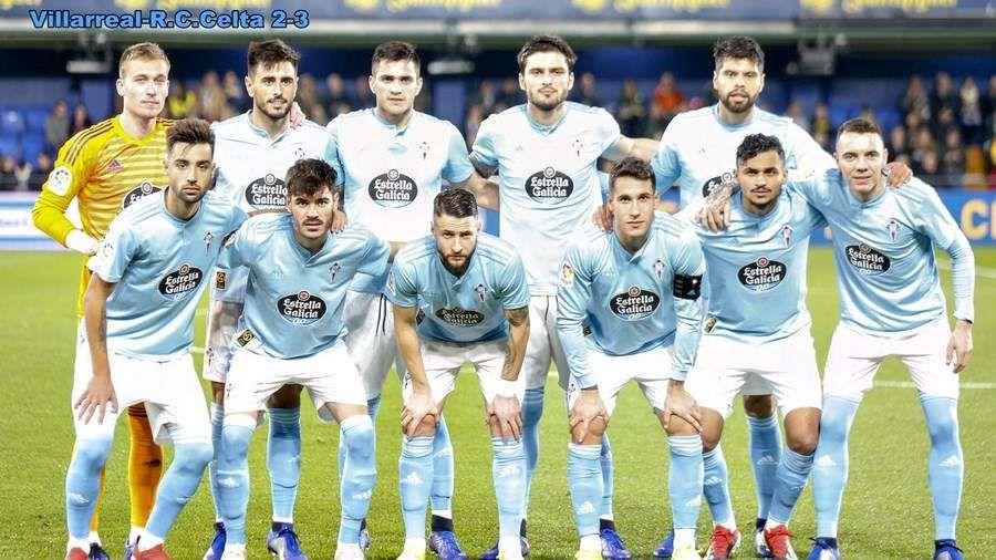 O Celta vence ao Villarreal (2-3)