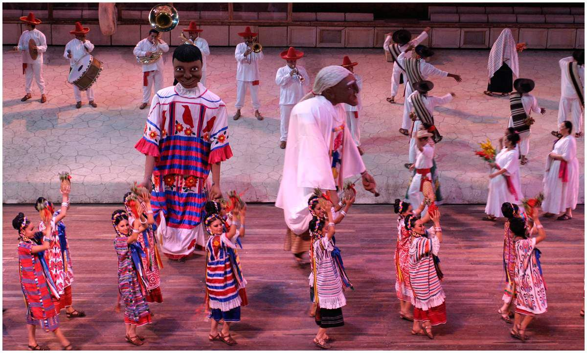 Folklore mexicain - Xcaret