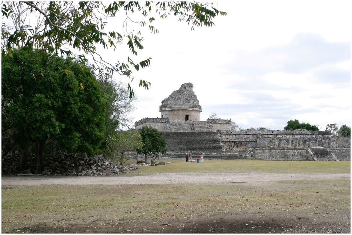 Le Caracol , tour ronde ancien observatoire astronomique
