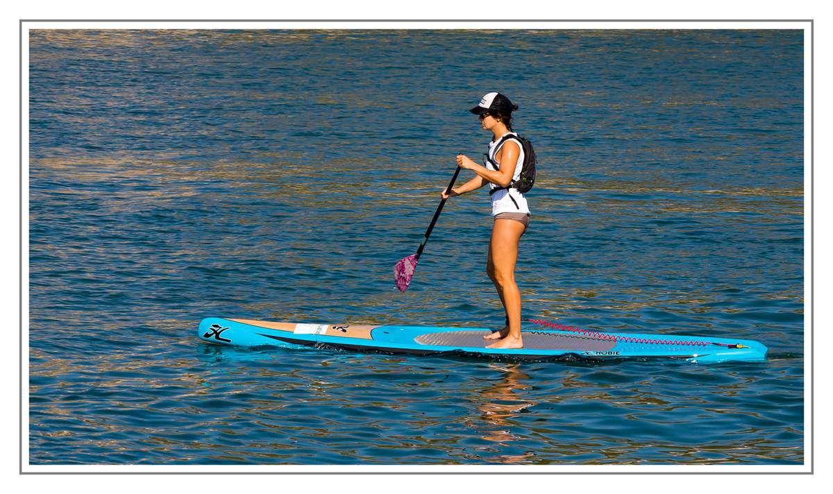 Le stand-up paddle de lyon - 2012