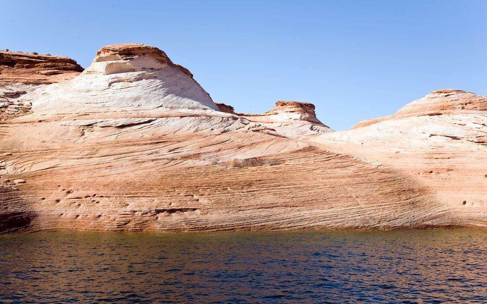Lake Powell - Parc National de l'Ouest Américain
