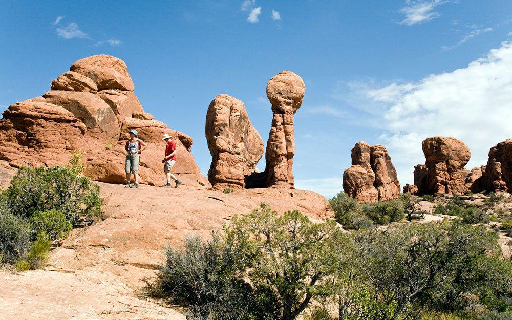 Arches Park - Parc National de l'Ouest Américain
