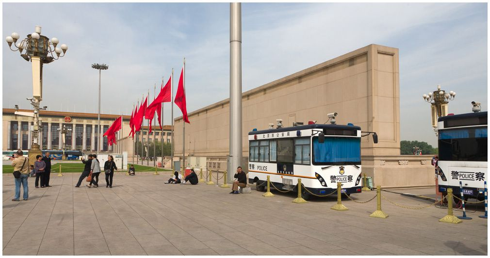 Place Tian Anmen - Pékin