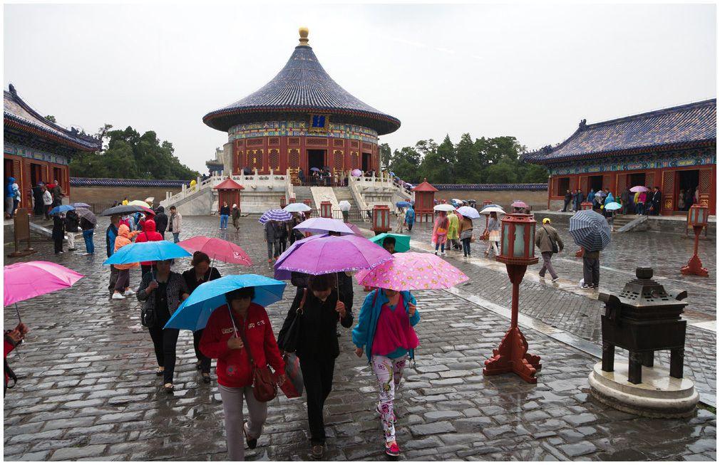 Le Temple du Ciel - Pékin