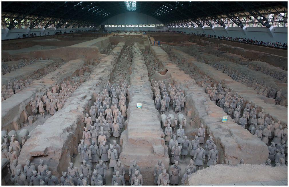 Xian - L'armée de terre cuite