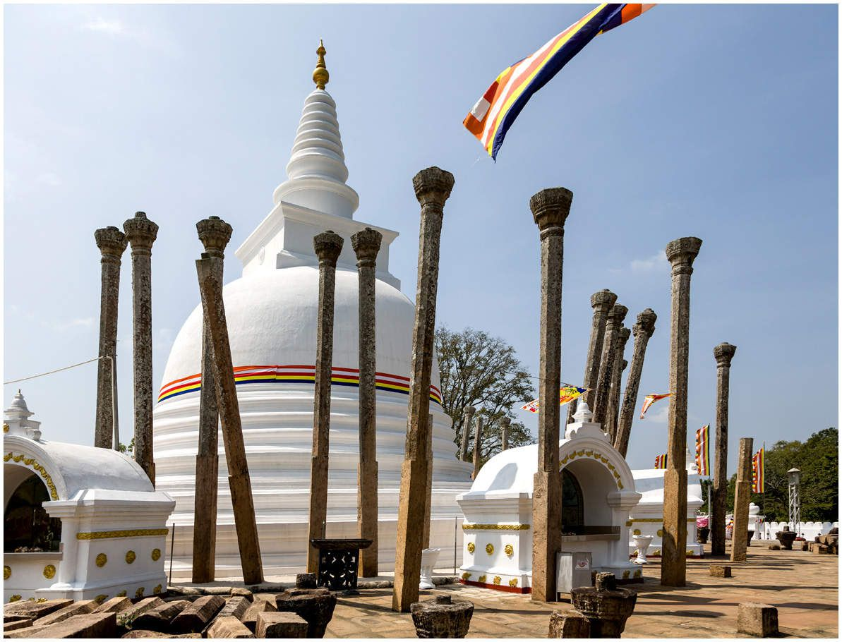 Sri Lanka - Le site d'Anuradhapura