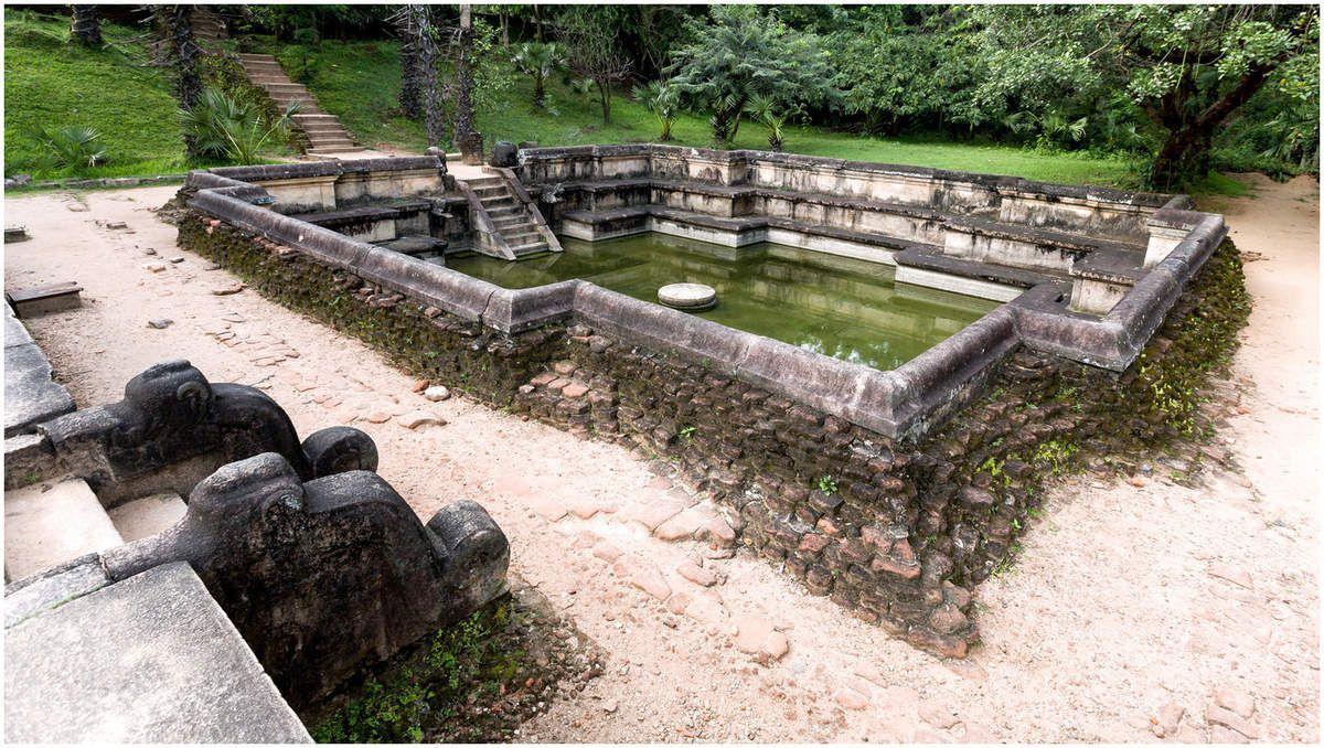 Sri Lanka - La citadelle de Polonnaruwa