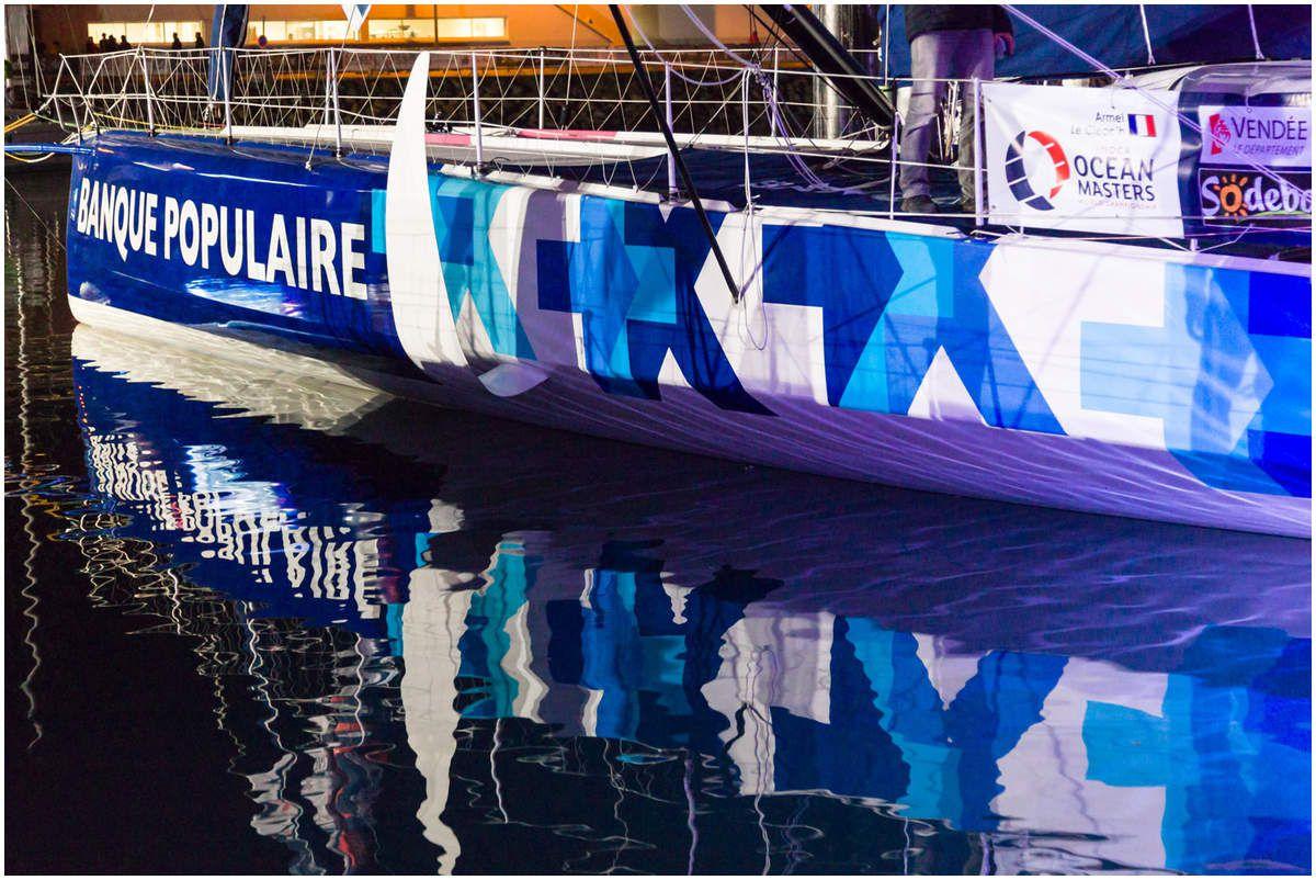 Le Vendée Globe 2016 - Le ponton
