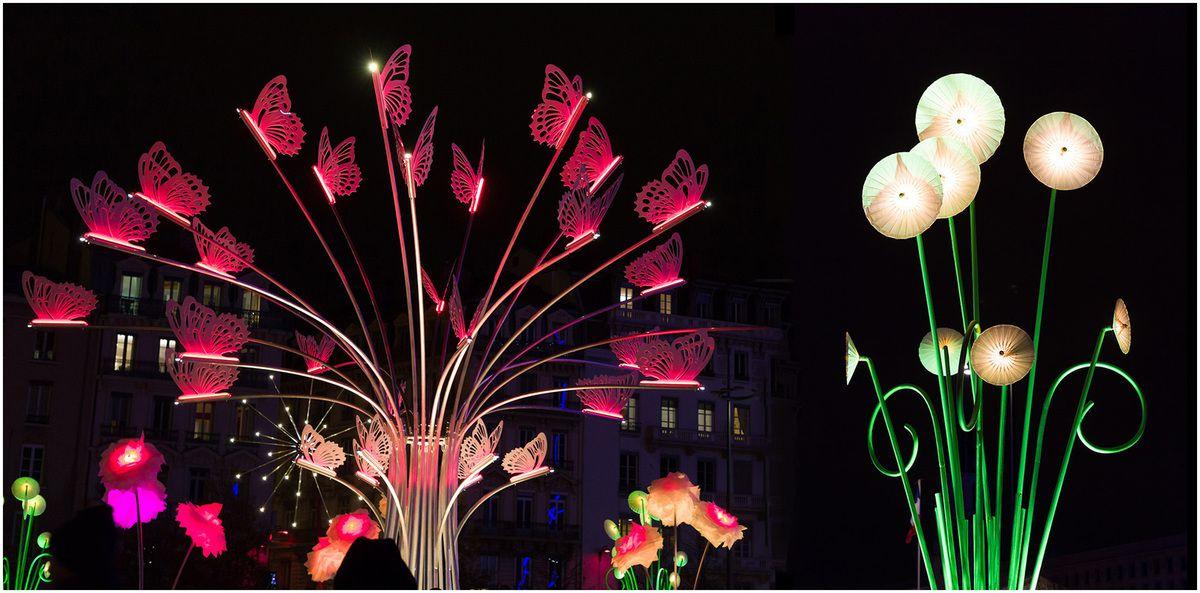 La fête des lumières 2017 à Lyon