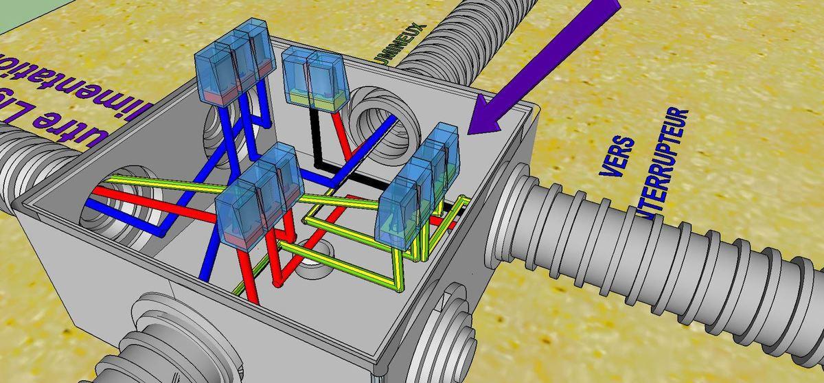 BRANCHEMENT ELECTRIQUE COMMENT FAIRE ? Circuit Simple Allumage