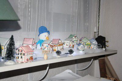 Décor de Noël et potager