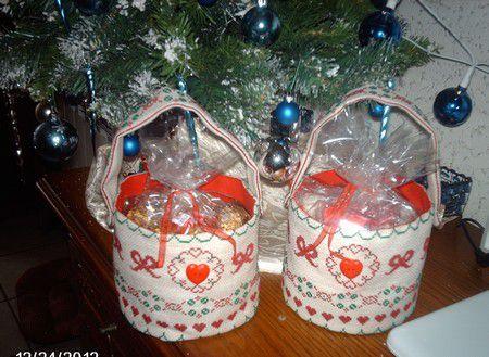 Des paniers pour Noël !