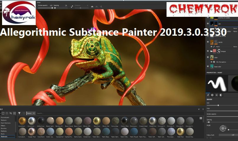 Substance Painter 2019.3.0.3530 Win(PINTA TUS MODELOS 3D)