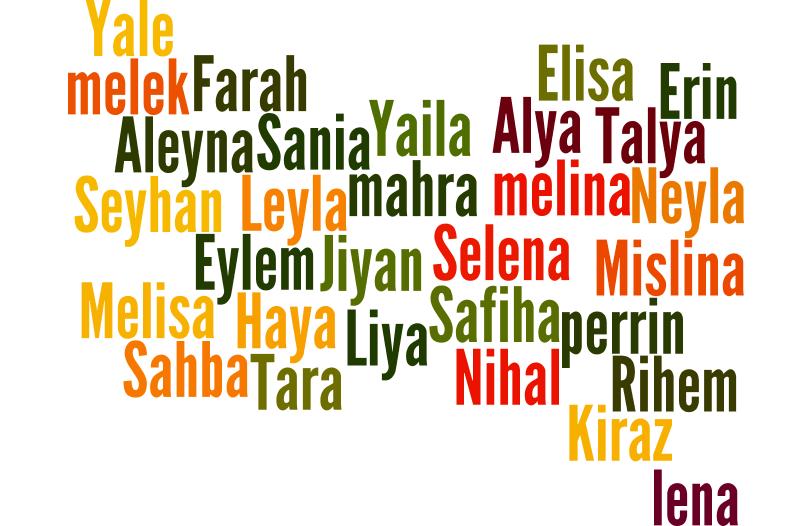 Liste prénoms féminins turcs