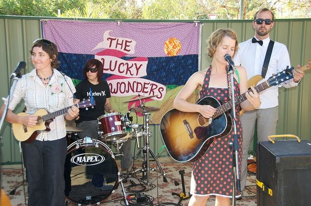 The Lucky Wonders