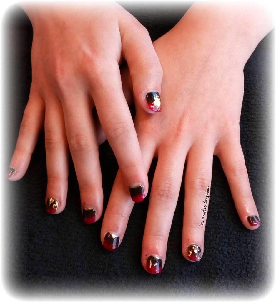 avant/apres rallongement sur ongles tres courts rongeuse
