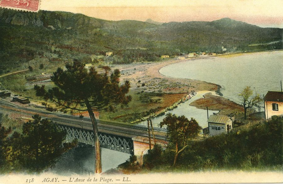Le pont d'Agay vers 1907 - Edition LL - collection Ph. Pons