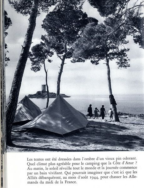 Voici la Côte d'Azur - FLAMMARION - 1960 - photo Cas Oothuys - Collection Ph. Pons