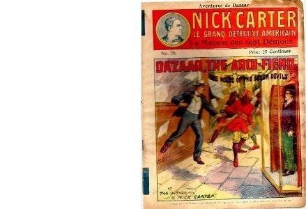 Nick CARTER, le grand détective américain contre Dazaar, l'Immortel Maléfique