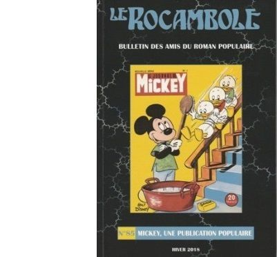 Revue Rocambole N°85 : Mickey, une publication populaire.