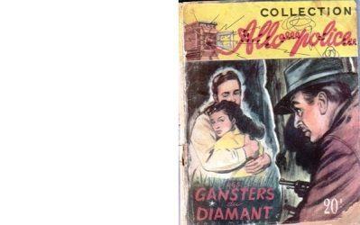 Paul MYSTERE : Les gangsters du diamant.
