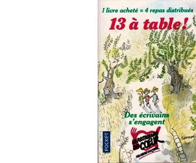Collectif : 13 à table ! 2018.