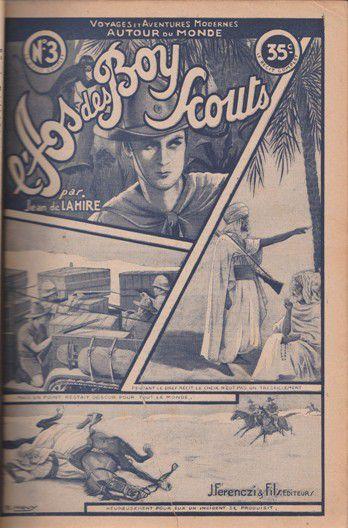 Jean de La HIRE : Le siège tragique. L'As des Boy-scouts fascicule N°3.