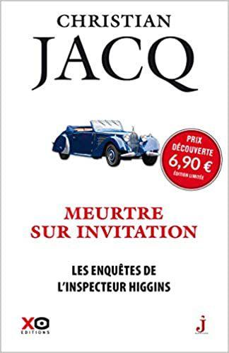 Christian JACQ : Meurtre sur invitation.