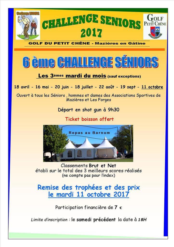 Le Challenge seniors mardi prochain 18 avril ! (2 ème modif....)