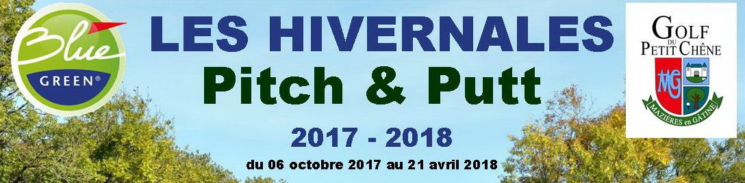 Modifications du calendrier du Pitch & Putt