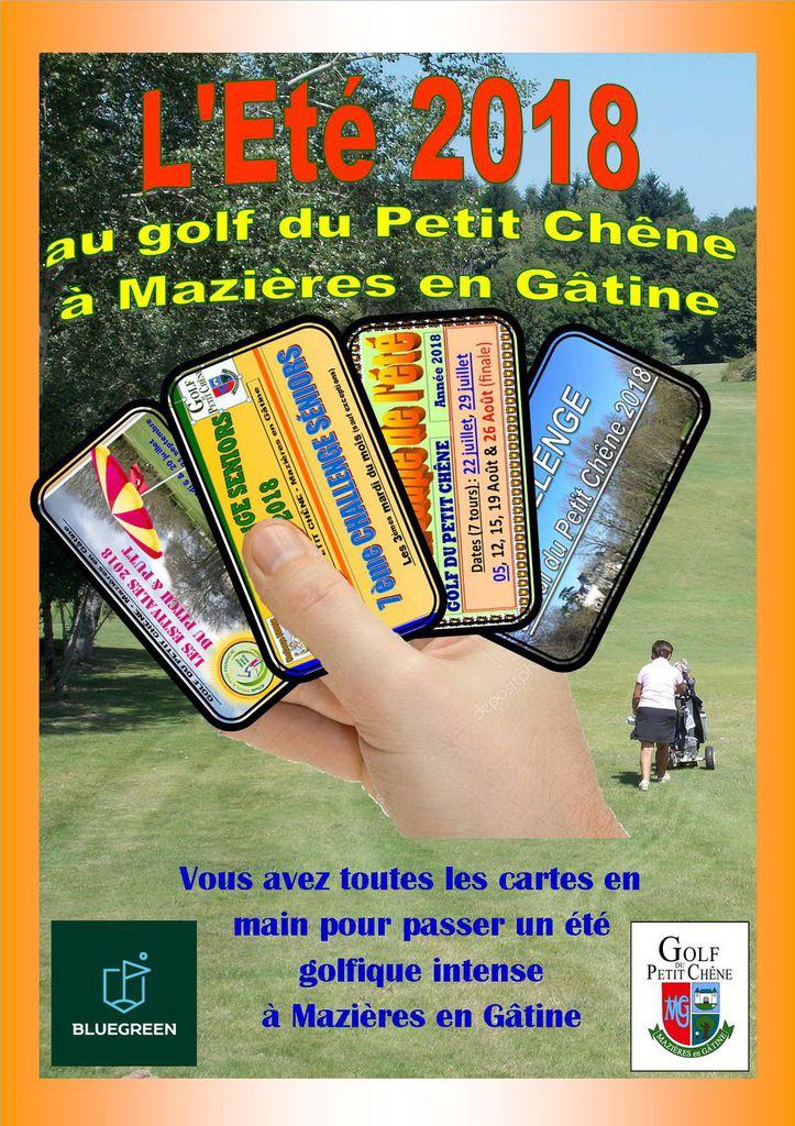 L'Été au golf de Mazières....
