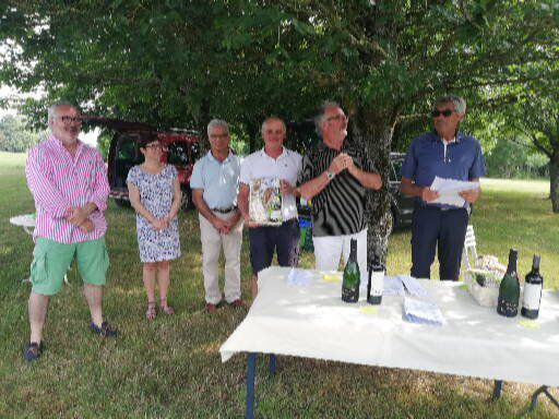 Photos de la compétition de l'Ecole de golf le 30 juin dernier