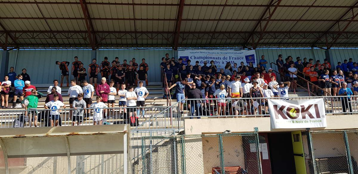 TOURNOI NATIONAL RUGBY à 13 UGSEL