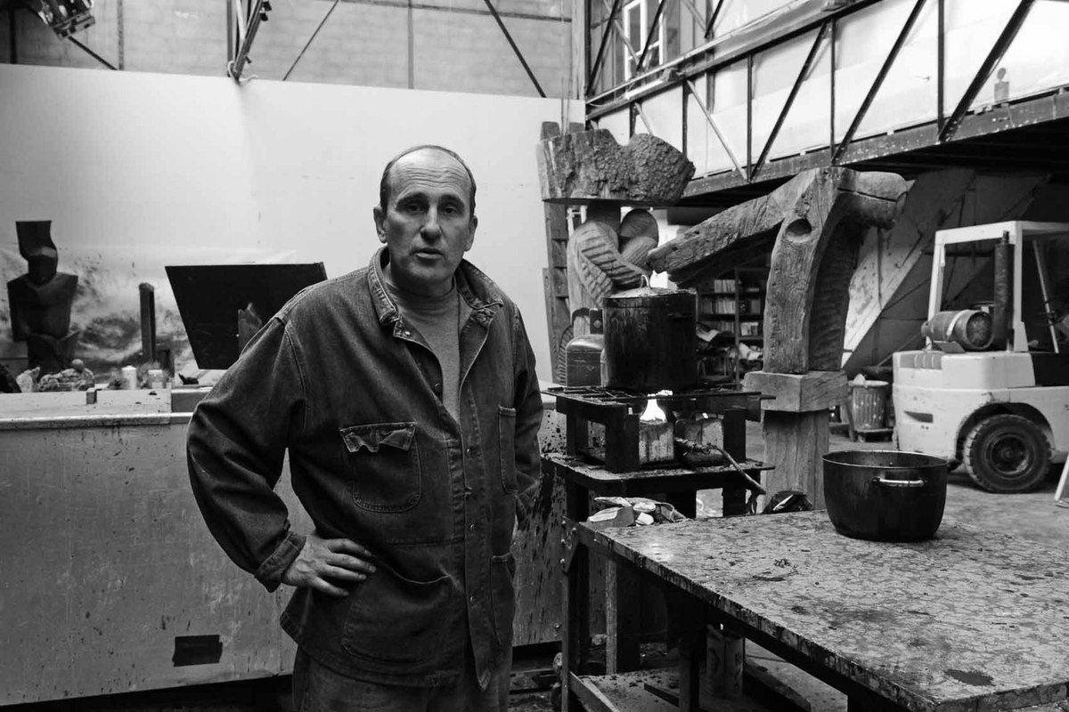 Visite de l'atelier de Nicolas Alquin. Le 27 avril 2012