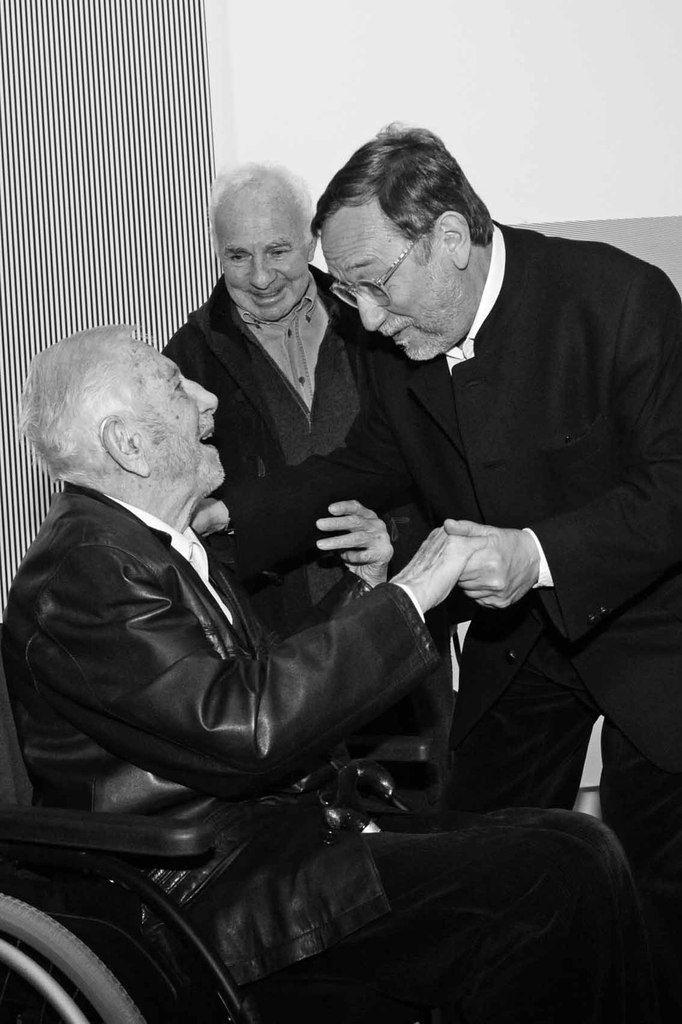 Luis Tomasello, André Morain, Serge Lemoine